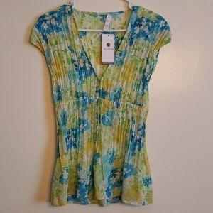 Apana Flowy Floral Print Shirt